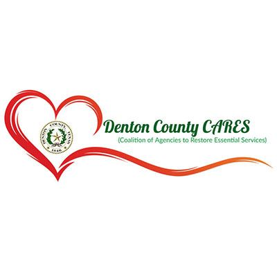 Denton County Cares Logo